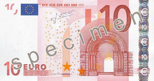 PHOTOS. Le nouveau billet de dix euros entre en