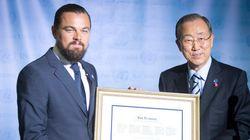 Grand-messe sur le climat à l'ONU, DiCaprio et Ban maîtres de