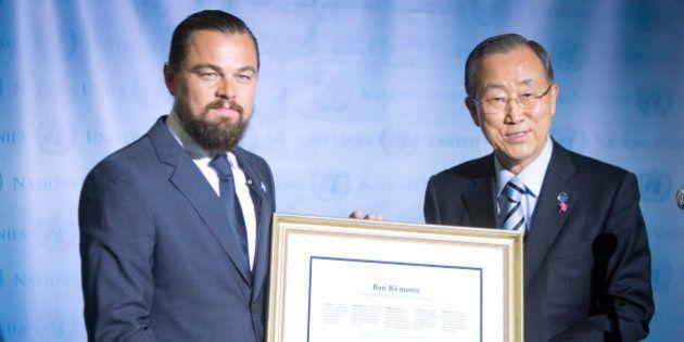 Réchauffement climatique: un sommet de l'ONU pour faire oublier l'échec de Copenhague, DiCaprio en