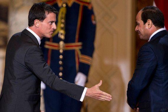 Manuel Valls finalise la vente de deux Mistral en