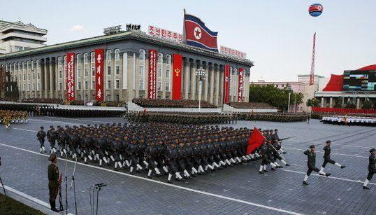 Corée du Nord: l'imposante parade militaire en