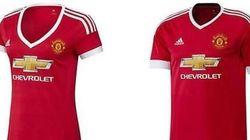 Le décolleté du maillot féminin de Manchester United choque des