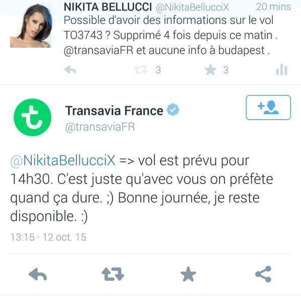 Une actrice porno française énervée par un tweet de