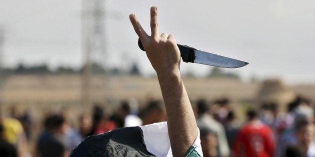 Israël - Palestine: le couteau, l'arme devenue symbole de la flambée de