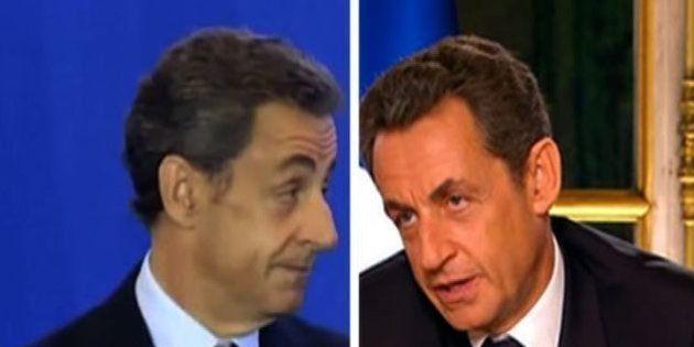 VIDÉO. Commenter les sondages? Sarkozy a visiblement oublié ses propres