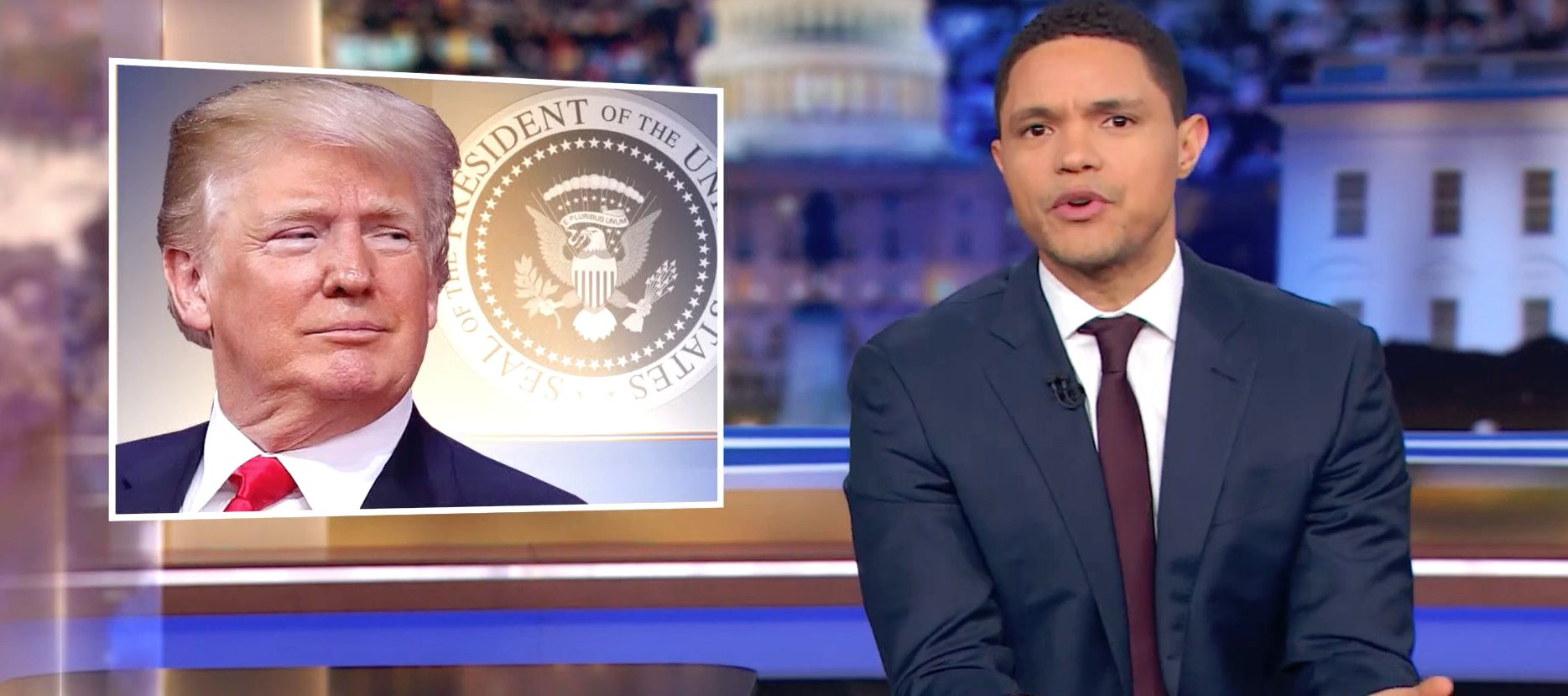 Trevor Noah Loses It Laughing About Border Thefts: Mexico Is Stealing The