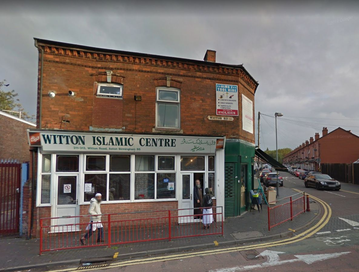 Windows smashed at four mosques in Birmingham