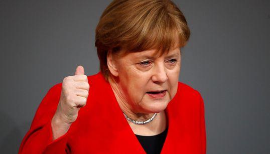 Merkel im Bundestag: Ausgerechnet bei Uploadfiltern wird sie