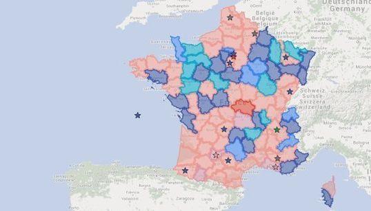 La France des départements ne ressemblera bientôt plus à