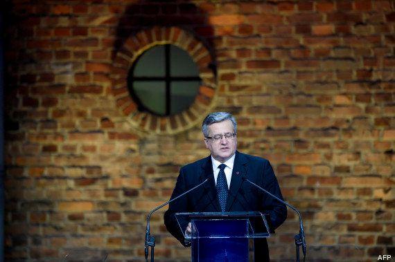 PHOTOS. 70 ans de la libération d'Auschwitz : La cérémonie en présence de survivants et de chefs