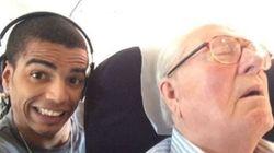 Le selfie d'un ex de Madonna avec Jean-Marie Le Pen pour inciter à voter contre le