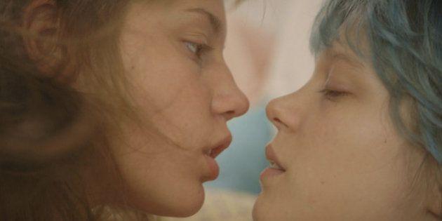 La Vie d'Adèle au Festival de Cannes: Adèle ExarchopoulosetLéa Seydoux reçoivent leur Palme plusieurs...