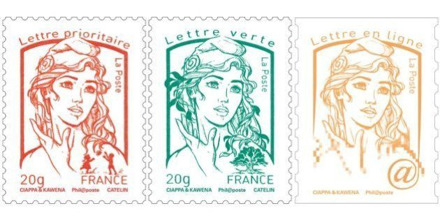 Le nouveau timbre Marianne, inspiré de la BD, dévoilé dimanche 14