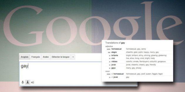 Google retire les insultes homophobes de son outil de