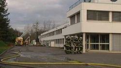 Incendie dans une usine en Alsace: des bureaux de vote fermés plusieurs