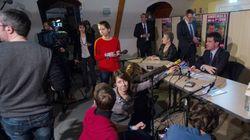Le meeting de Valls dans le Doubs ne s'est pas passé comme