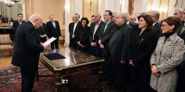 Qui sont les ministres du nouveau gouvernement grec, qui se réunit pour la première fois ce