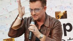 Bono s'adresse à Hollande en