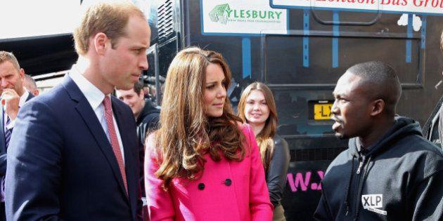 Kate Middleton fait sa dernière sortie publique avant l'accouchement de son deuxième