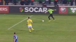 Le but gag de Zlatan