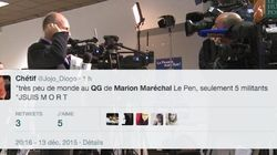 VIDÉO - Au QG de Marion Maréchal Le Pen, il y avait plus de journalistes que de