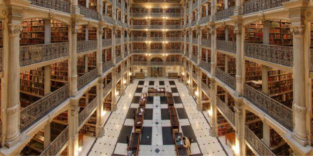 PHOTOS. Les plus belles bibliothèques publiques du