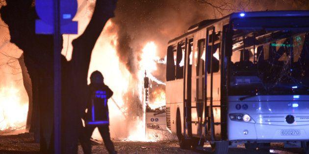 Une violente explosion à Ankara fait au moins 28