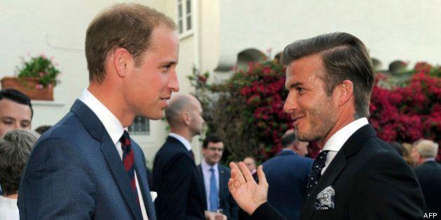 Bébé de Kate et William: si c'est un garçon, David Beckham propose de l'appeler...