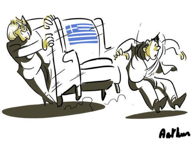 La Bourse d'Athènes chute, les banques perdent un quart de leur valeur après les premières annonces du