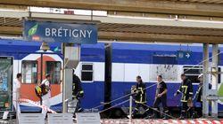Un premier train de voyageurs a traversé la gare de Brétigny