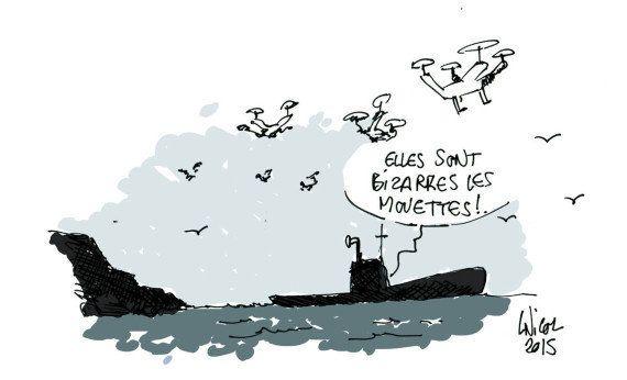Survol de drones: plusieurs appareils détectés près du site militaire nucléaire de l'Ile