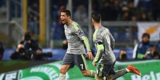 VIDÉO. Le but incroyable de Cristiano Ronaldo lors de la victoire du Real Madrid face à l'AS