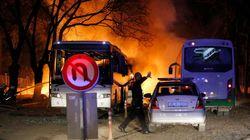 La Turquie attribue l'attaque aux Kurdes et bombarde le
