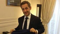Nicolas Sarkozy a déjà son maillot pour