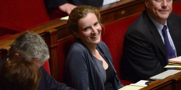 VIDEO - NKM fait campagne à l'Assemblée pour promouvoir sa candidature à Paris, Duflot