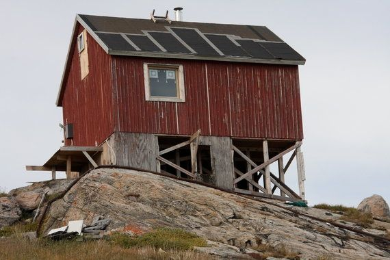 Et pourquoi pas une petite promenade dans un village du Groenland