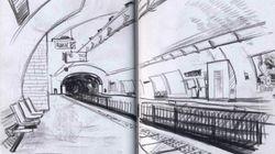 Le métro parisien croqué ligne par