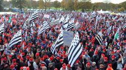 Entre 17.000 et 40.000 Bonnets rouges réunis à