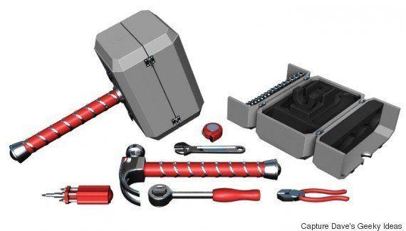 PHOTOS. La boîte à outils en forme de marteau que les fans de