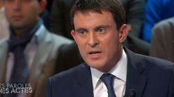 Manuel Valls sur France 2: un lapsus et un vif échange avec