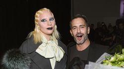 Lady Gaga a surpris tout le monde au défilé Marc