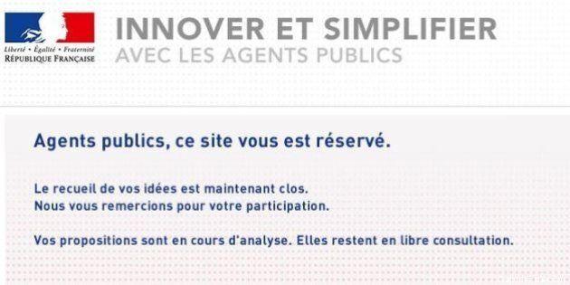 Choc de simplification: quand l'administration fait appel aux idées des citoyens sur un site