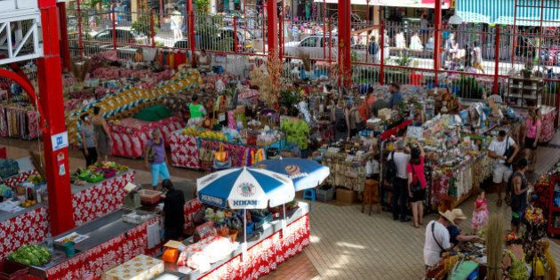 A view of the market from