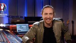 David Guetta dévoile quelques secondes de l'hymne de l'Euro
