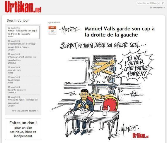 Résultat départemental 2015: L'attitude de Valls plusieurs fois comparée à celle du pilote de