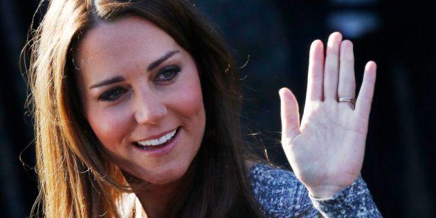 PHOTOS. Kate Middleton: un lapsus de la duchesse fait penser qu'elle attend une