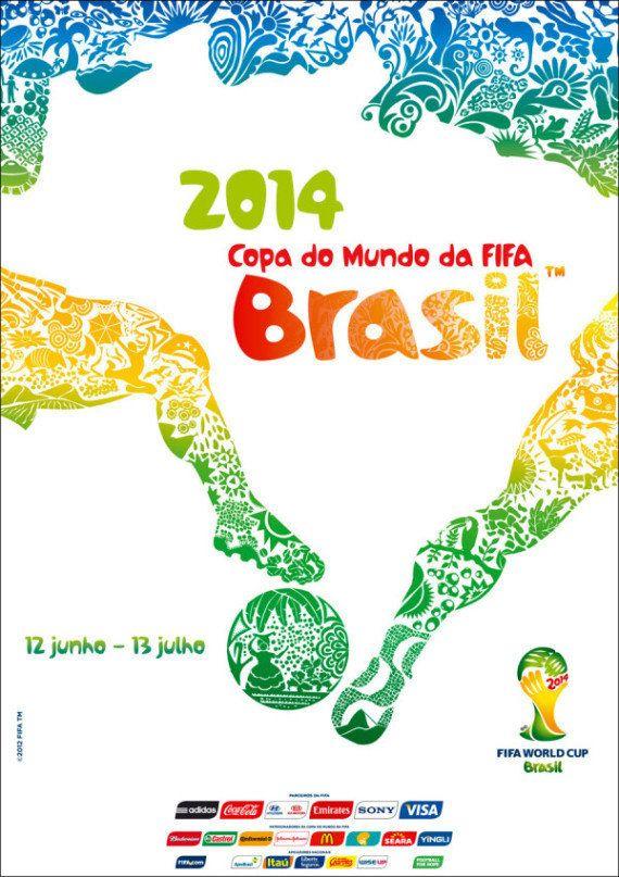 PHOTO. Coupe du Monde 2014 : l'affiche de la compétition