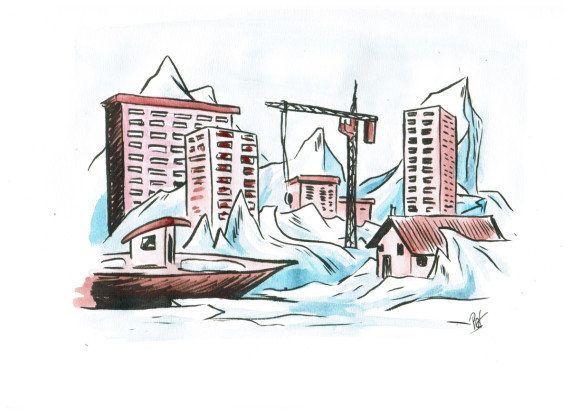 PHOTOS. Une ville de glace en Russie après la rupture de
