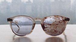 Yoko Ono publie une photo des lunettes ensanglantées de John