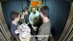 Dans son ascenseur, Shia Labeouf a reçu une demande en